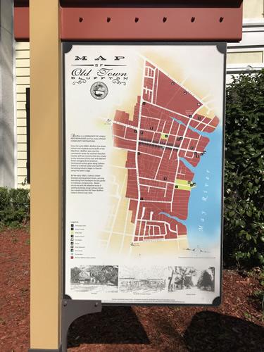 Map of Old Town Bluffton - Hilton Head Island - design42