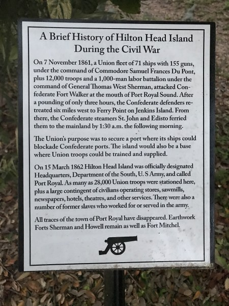 A Brief History of Hilton Head Island During the Civil War - Fort Mitchell – Hilton Head – design42