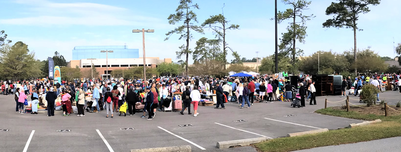 The World's Largest Yard Sale – Hilton Head Island – design42