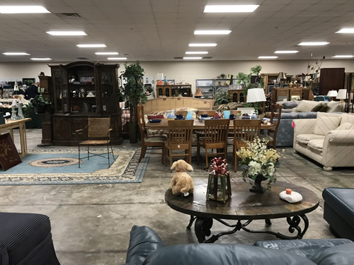 Osprey Village Thrift on Main has a lot of furniture - Osprey Village Thrift on Main - Hilton Head Island