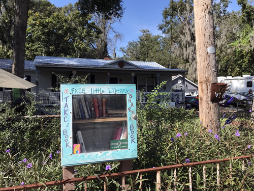 Free Little Library Take a Book - Leave a Book - The Shops & Galleries of Old Town Bluffton Bluffton – Hilton Head Island – design42