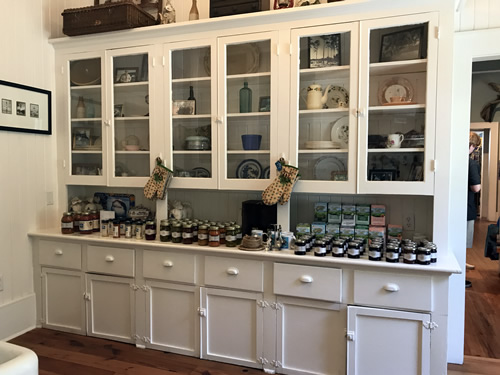 Jams in the old kitchen at the Coastal Discovery Museum at Honey Horn