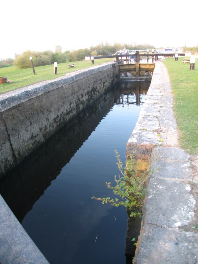 Lock in the Grand Canal at Shannon Harbour