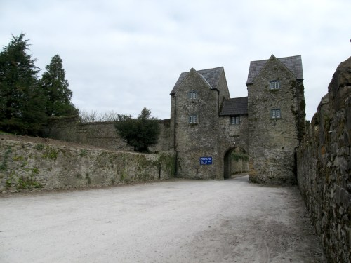 Gatehouse at Lismore Castle
