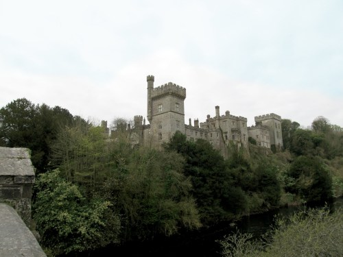 Lismore Castle Skyline from Bridge across the River Blackwater