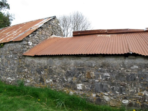 See how old the buildings are? Somewhere between the Knockmealdown Mountains and Cahir, Ireland