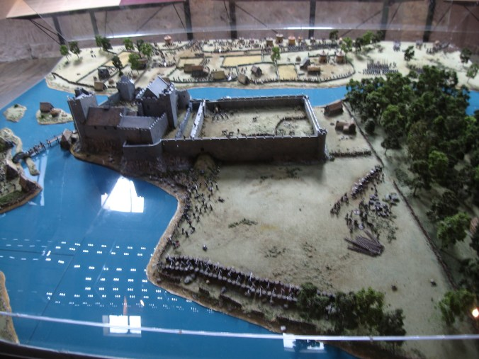 Model of the Siege of Cahir Castle