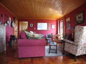 Living Room at Craggy Island B&B, Ardeamush, Doolin, County Clare, Ireland