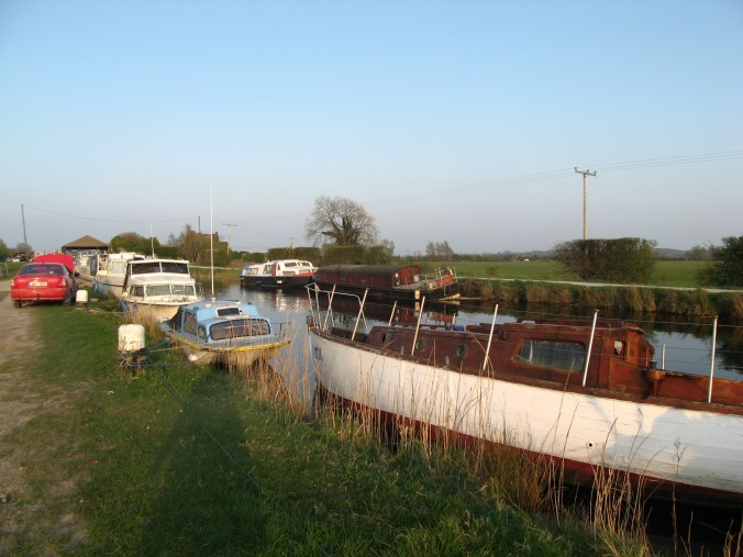 Canal Boats and other Boats at Shannon Harbour