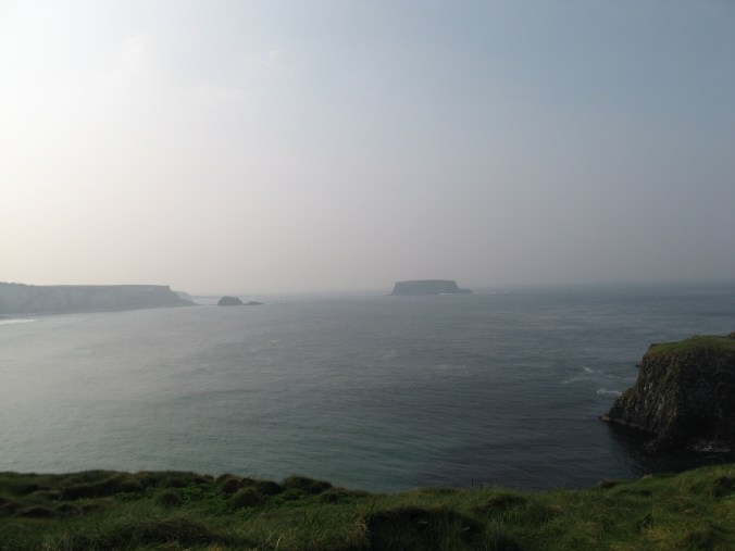 View from Carrick-a-Rede Island