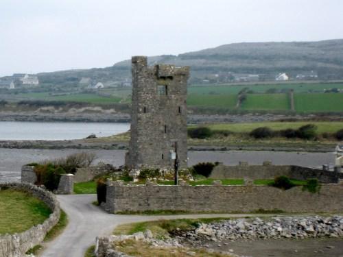 Ballynacregga Castle, Muckinish West Tower House, Galway Bay, Ireland