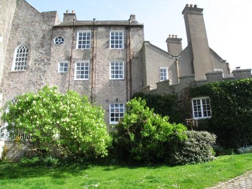 Side of Leixlip Castle.