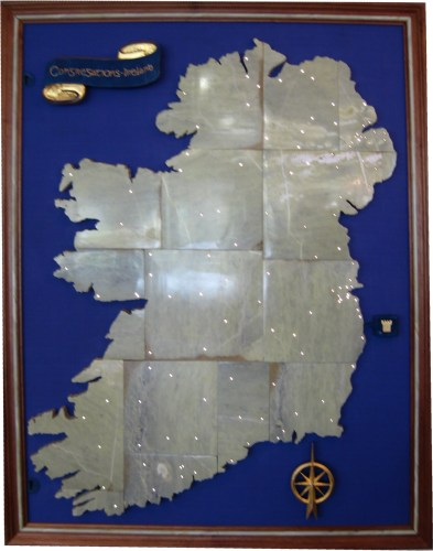 Map of the Ireland Congregations