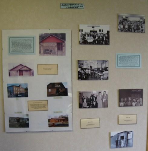 Museum Display at Ireland's Bethel