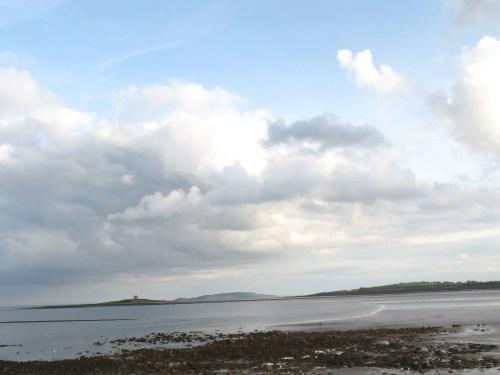 Martello tower on Shenick Island, The Skerries, Fingal, Ireland
