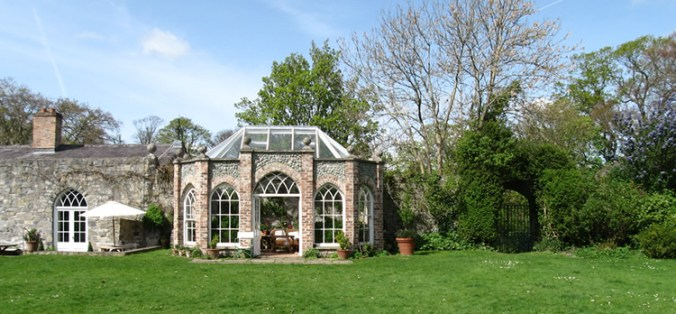 Leixlip Castle Gothick Greenhouse