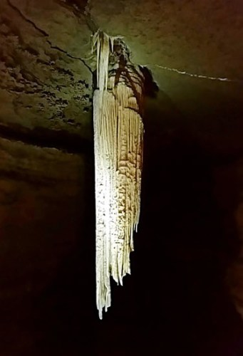 The Great Stalactite in Doolin Cave - Caves in the Burren – A Different Visit to Ireland