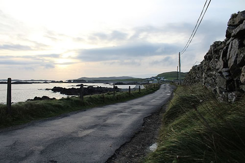 Road on the Island or Inishbofin Photo by Towel 401 - Islands of Ireland's Western Connemara – Ireland, A Different Visit