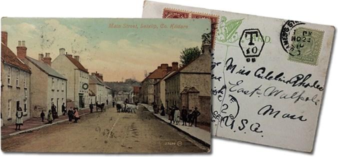 1910 Postcard of Leixlip