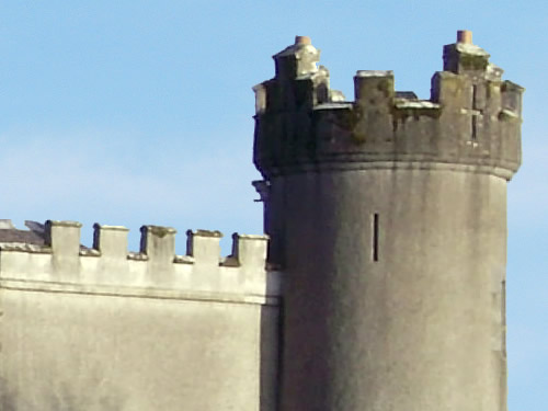 Crenellations on Tullynally Castle Photo by Peter Gavigan
