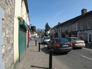 A street in Leixlip
