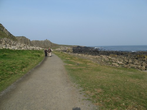 Trail back from Giant's Causeway