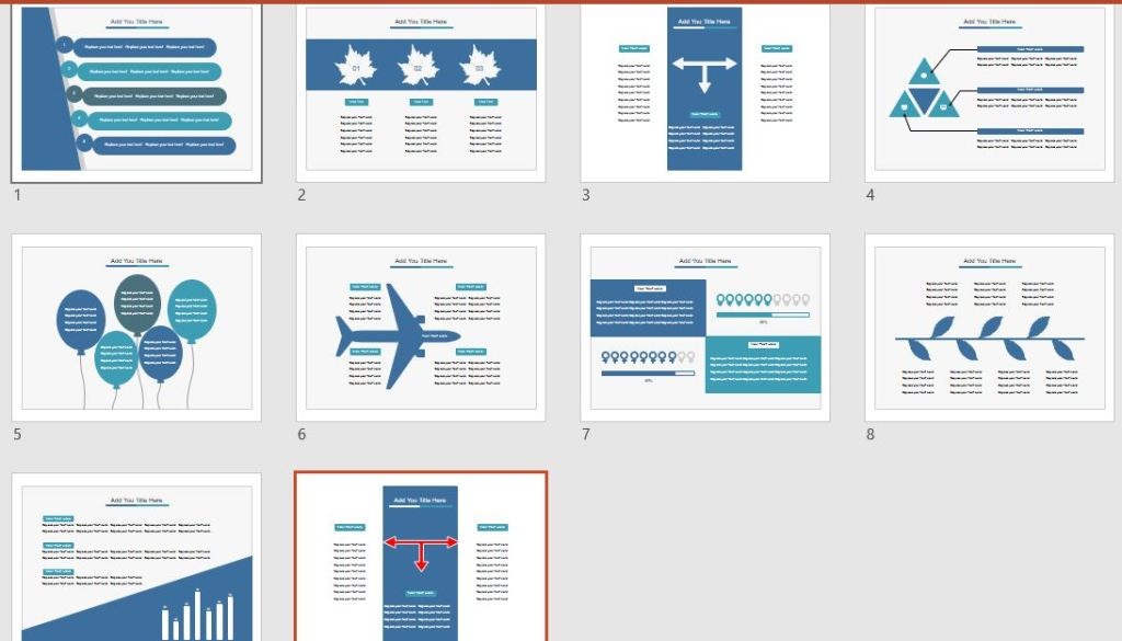 Powerpoint ligth Blue Sample jpg