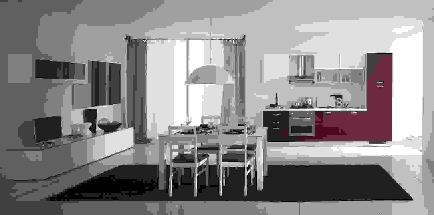 Con un semplice gesto passi da un effetto open space a spazi divisi. Cucina E Soggiorno Insieme Idee Ed Esempi Di Arredamento