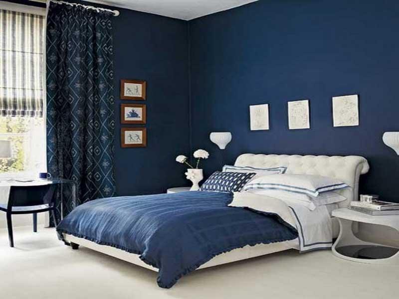 Blu, azzurro, turchese e nero · legno (est): Colori Camera Da Letto Per Le Vostre Pareti Dal Classico Al Feng Shui