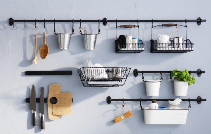 Binari Appendi Oggetti Per La Cucina Ikea Leroy Merlin E