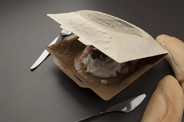 Example of Cornstarch Packaging
