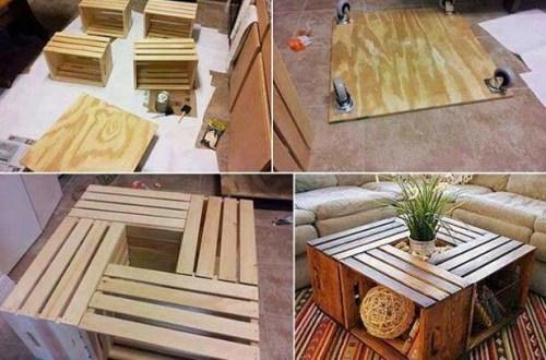 DIY - kistjes - salontafel - tafel - design - designaresse