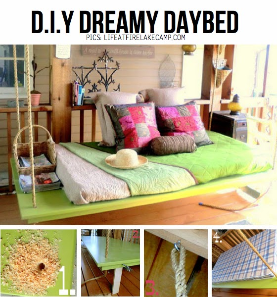 DIY daybed - day - bed - dagbed - lounge - loungebed - Design - Designaresse