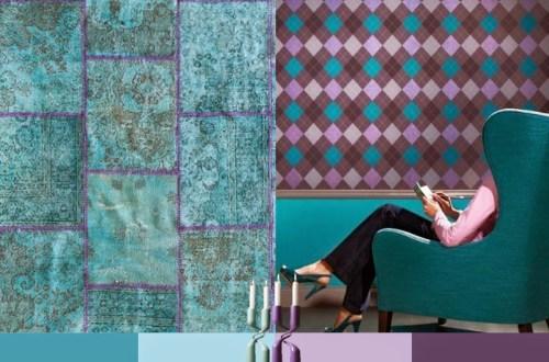 Kleuren - turkoois- trends - 2015 - interieur - Designaresse