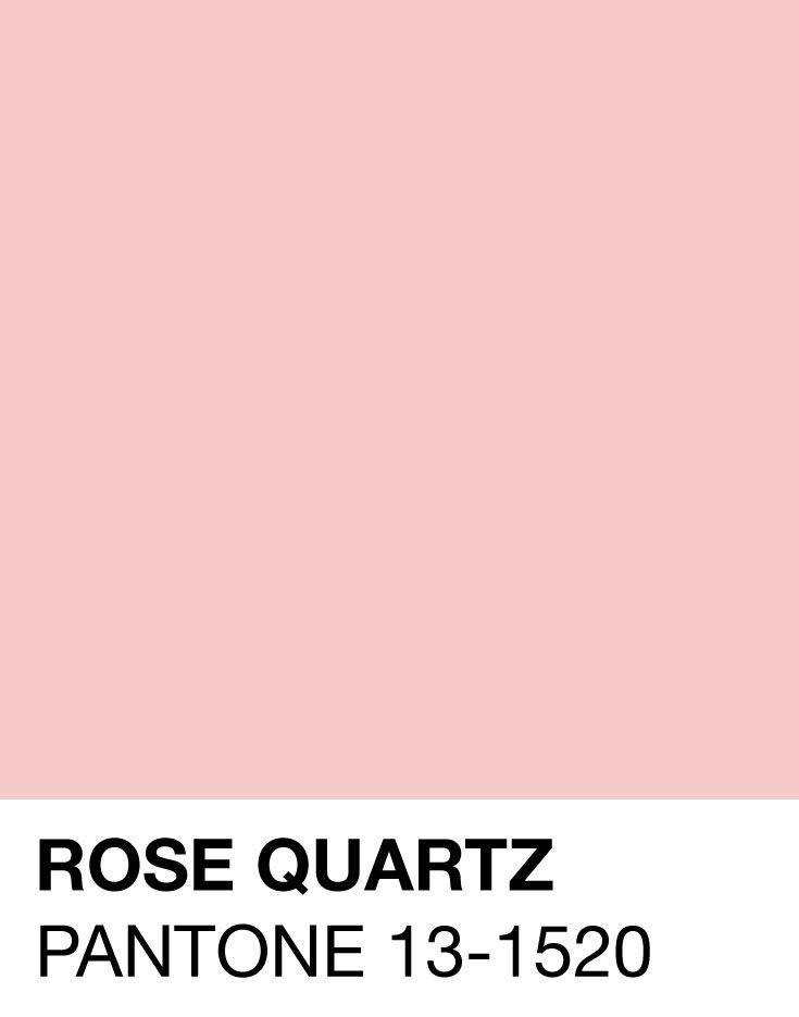 Rose Quartz - Pantone 2016 - Designaresse