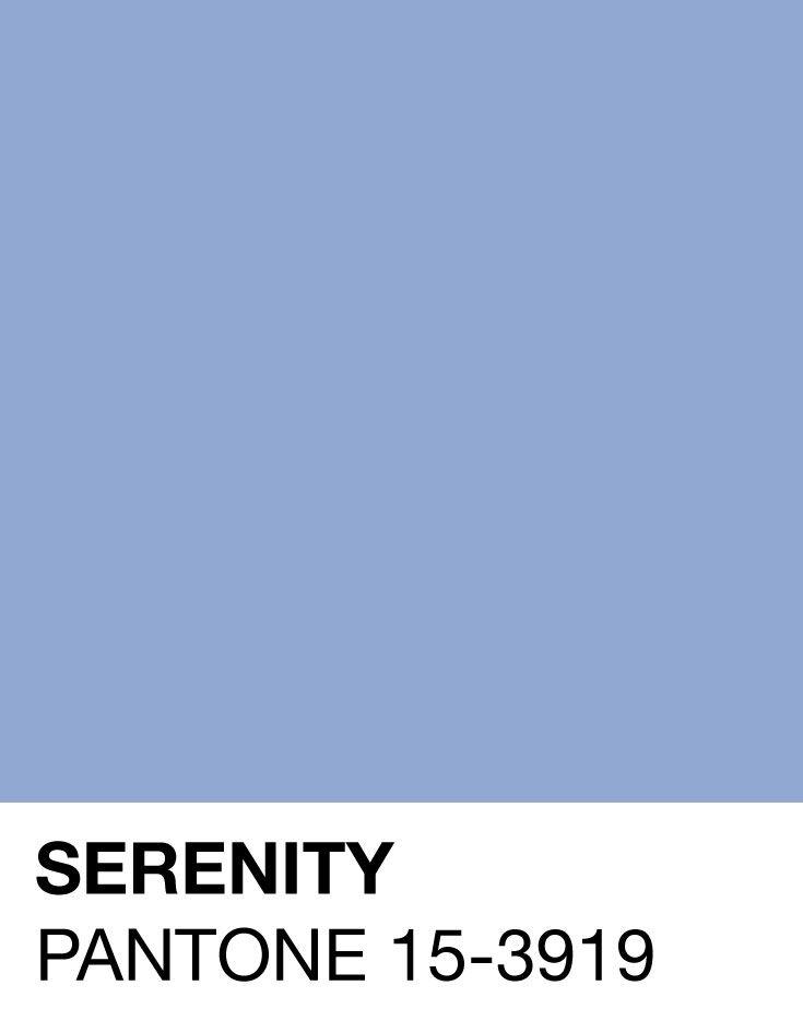 Serenity - Pantone - Designaresse