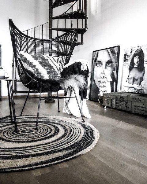 Interieurinspiratie - zwart wit - designaresse