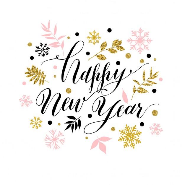 Gelukkig nieuwjaar - Designaresse