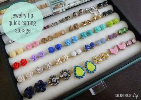 15+ Jewelry Organization Ideas