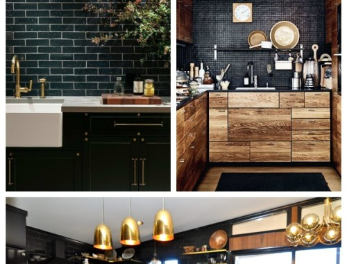 7 mind-blowing, sexy black kitchens | Design Asylum by Kellie Smith