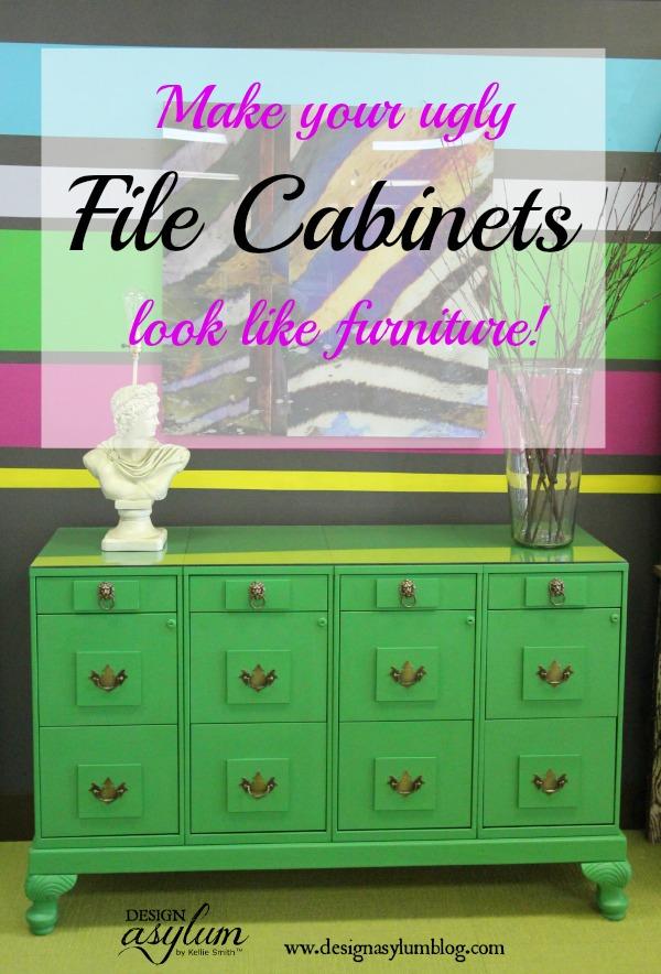 Design Asylum Blog | DIY File Cabinet Makeover & DIY: file cabinet makeover | Design Asylum Blog | by Kellie Smith