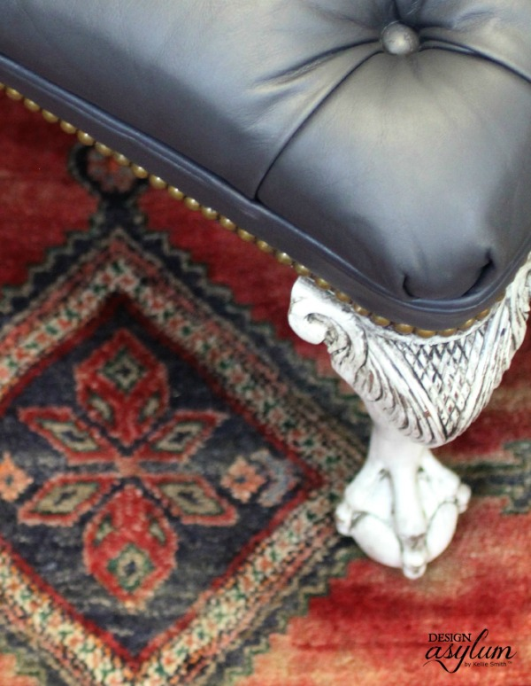 How to paint Leather Furniture | Design Asylum Blog
