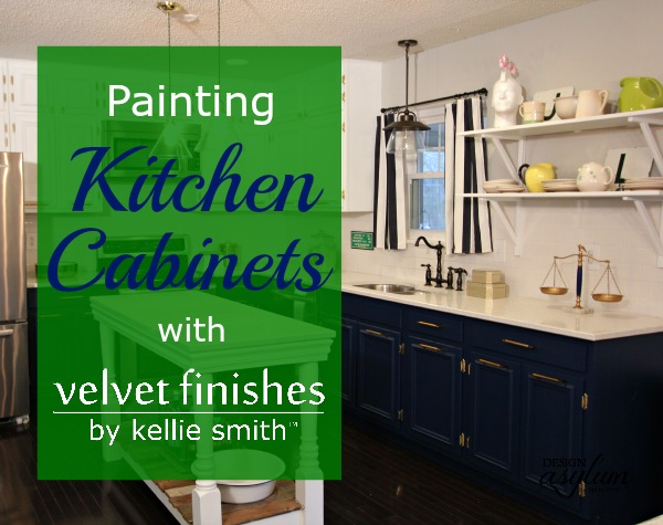 Thinking About Painting Your Kitchen Cabinets? Velvet Finishes 1 2 3 Step  Process