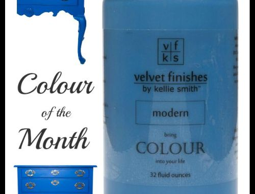 Modern by Velvet Finishes - The September Colour of the Month. Contemporary, cutting edge and fresh. SEPCOM20 code at checkout for a 20% savings on our NO sand, NO prime, NO chalk, NO wax furniture paint.