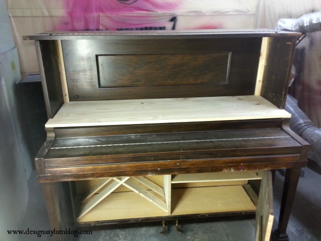 Check out this amazing transformation! A piano into a bar! #fabflippincontest