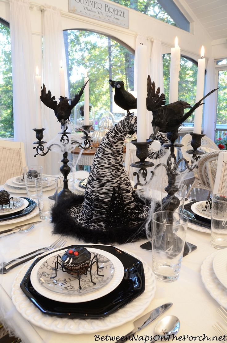 If I Was Going To Host A Halloween Dinner Party I Would Find My Table  Setting