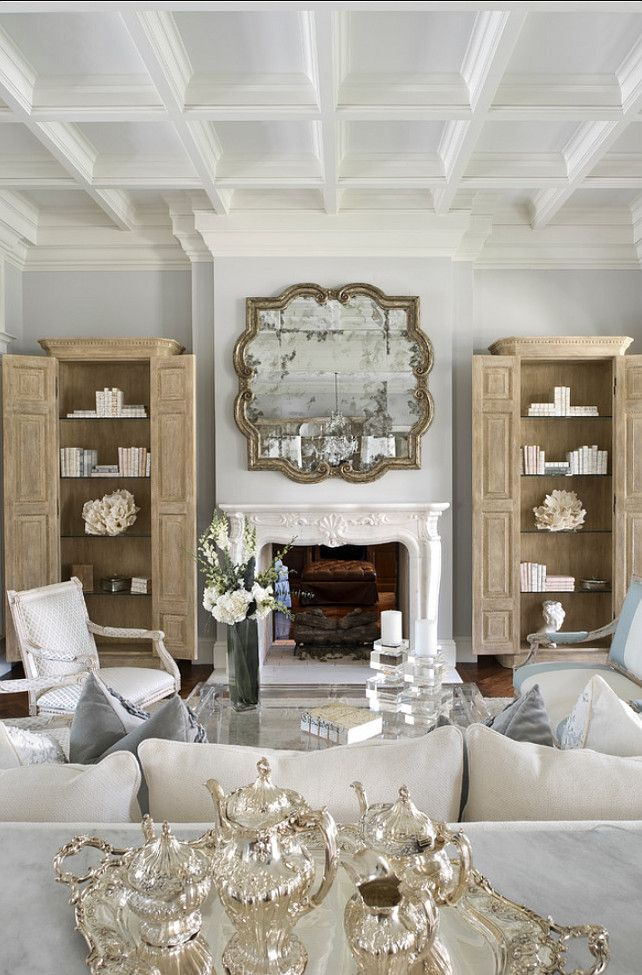 French Living Room via Home Bunch - Soulful Velvet Finishes inspiration