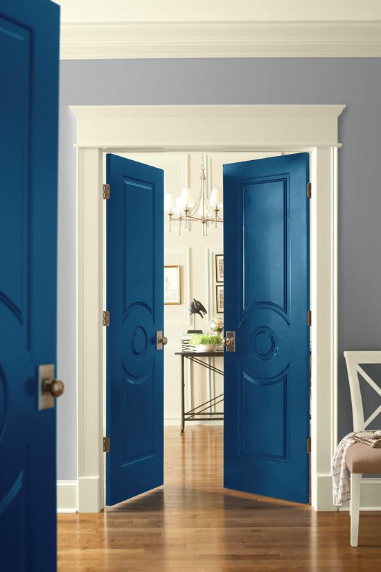 Think Your Interior Doors Are Supposed To Be White? Hereu0027s 11 Boldly Painted  Interior Doors