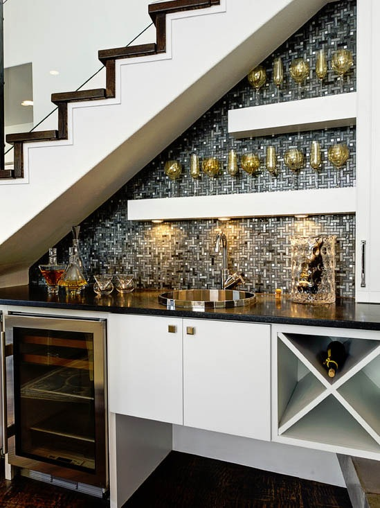 Wow, these wet bar ideas are beautiful! Take a look at these wet bar ideas, a DIY bar, and how to stock the ultimate bar via Design Asylum Blog.