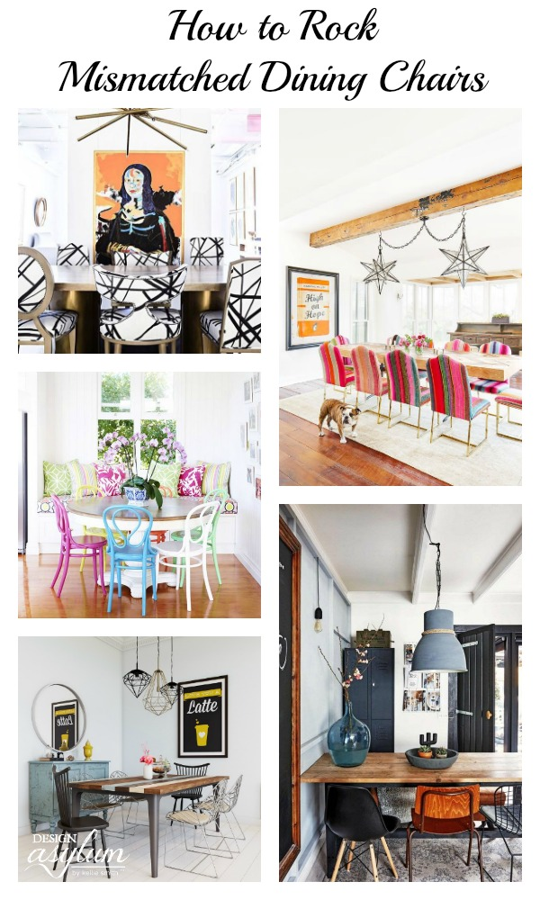 How To Rock Mismatched Dining Chairs   Design Asylum Blog | By .